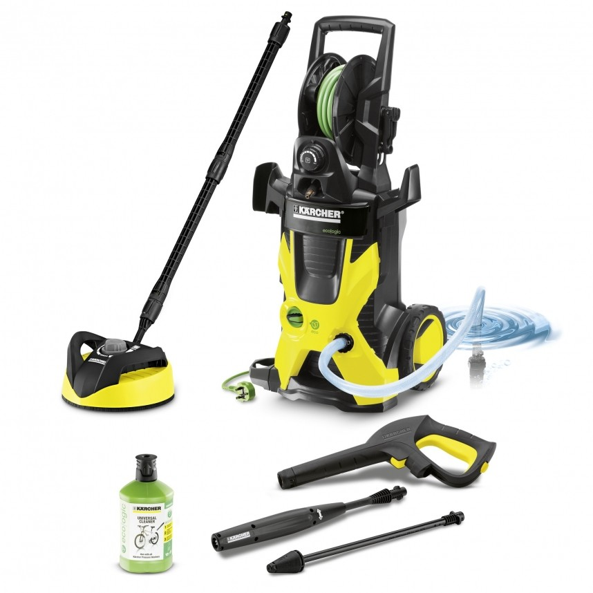 karcher k5 premium eco ogic home pressure clean. Black Bedroom Furniture Sets. Home Design Ideas