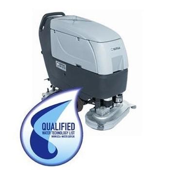 Nilfisk BA 551/611 walk behind scrubber dryer