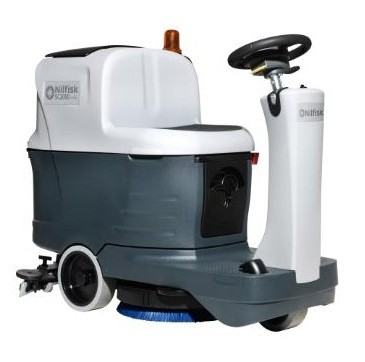 Nilfisk SC2000 mini ride-on scrubber dryer