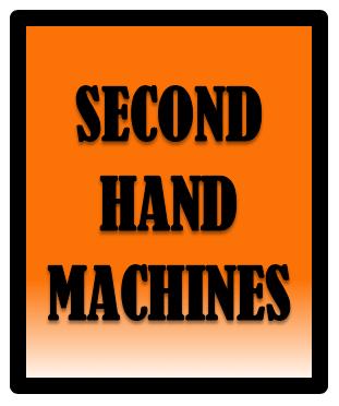 Second Hand Machines