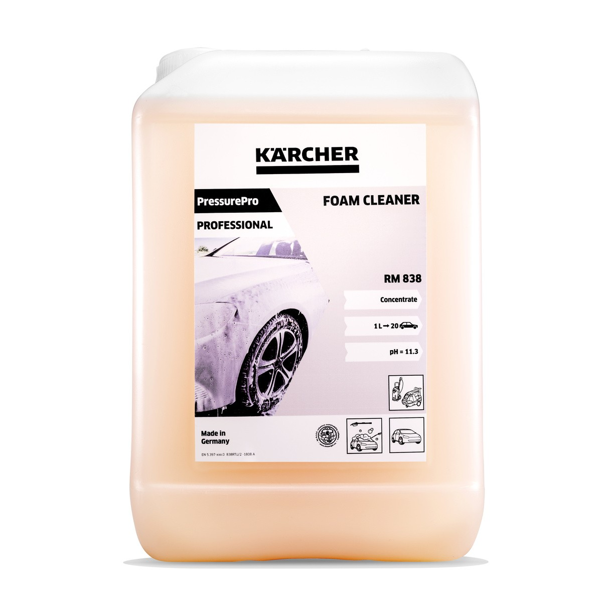 Karcher-cleaning