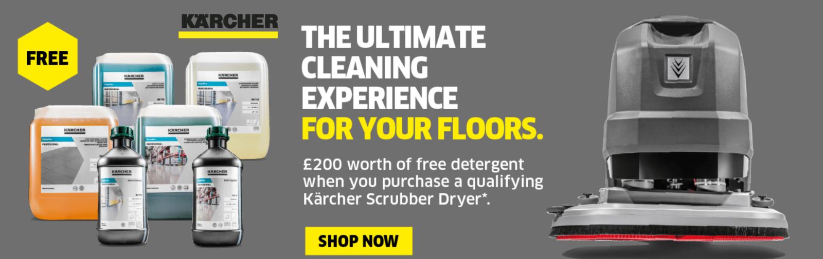 Karcher Scrubber Dryers Campaign