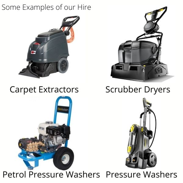 Hire Machines Examples