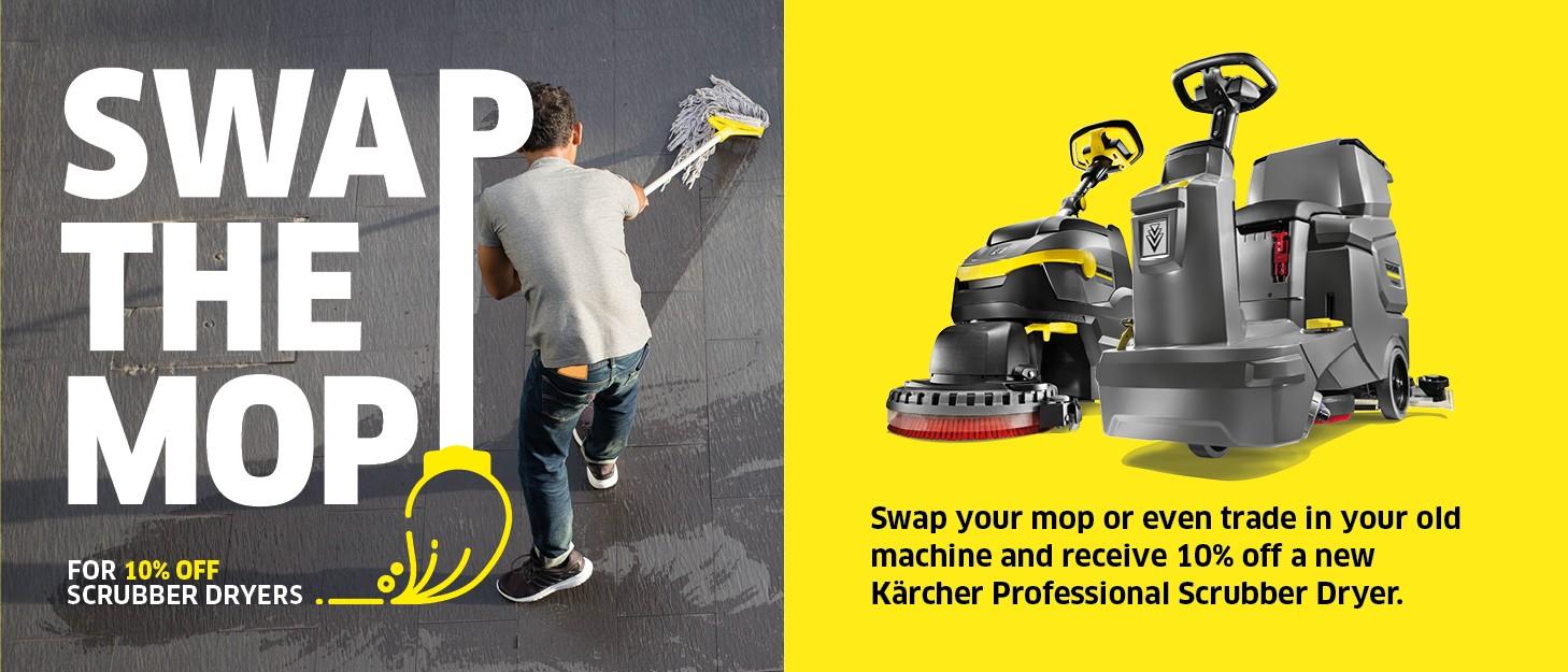 karcher swap the mop promotion