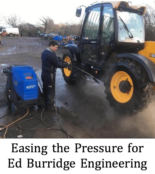 Easing the Pressure for Ed Burridge Engineering