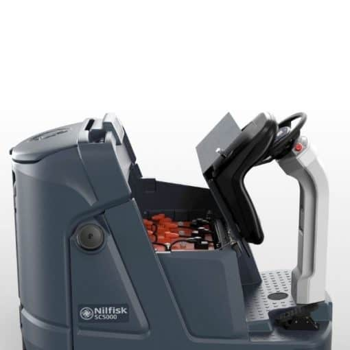 Nilfisk SC 5000 scrubber dryer from Pressure clean